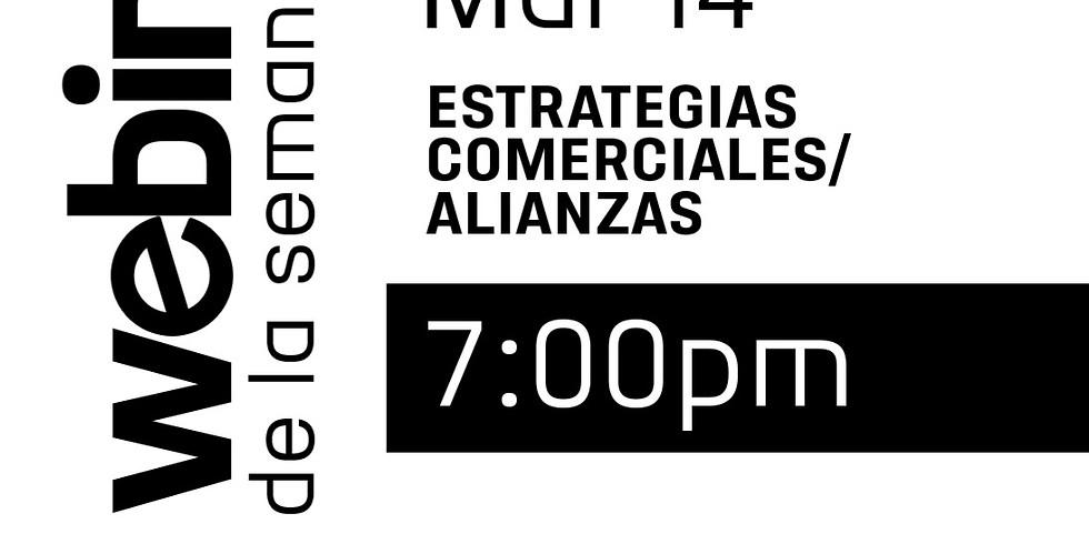 Webinar: Estrategias Comerciales/Alianzas