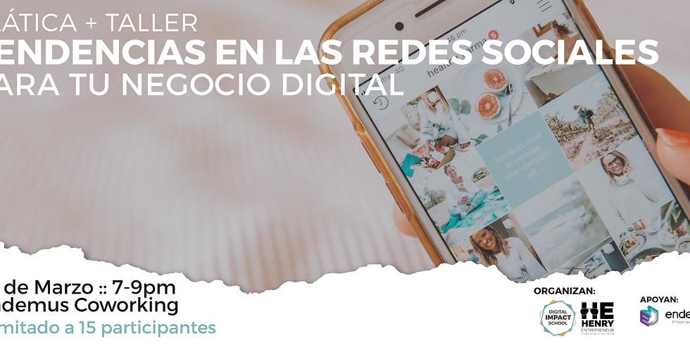 Webinar gratuito: Tendencias en las Redes Sociales para tu Negocio Digital