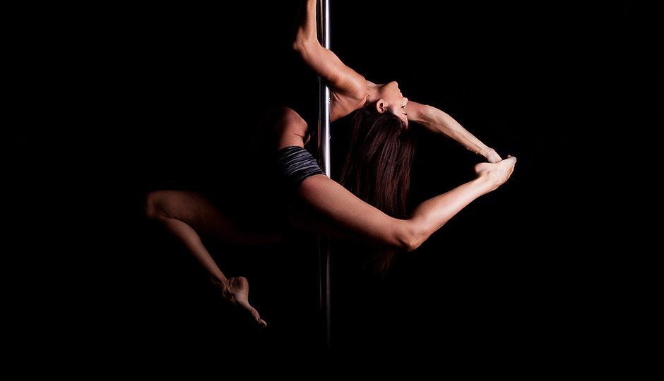Athletic Pole Dancer
