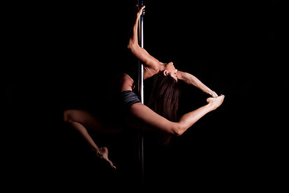 Sportowiec Pole Dancer