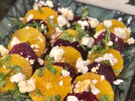 Orange & Beets Salad