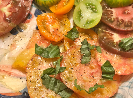 Garlic-Butter Tomatoes