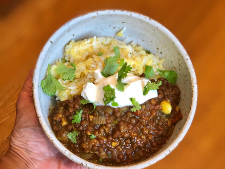 Black Lentil Stew