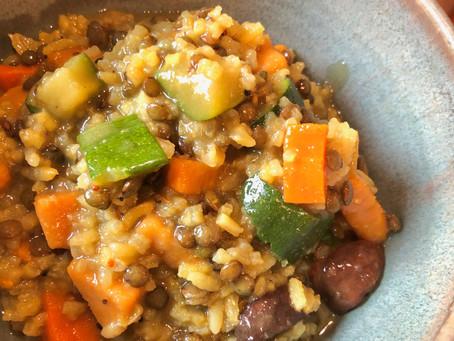 Kitchari: Indian Rice & Lentil Stew