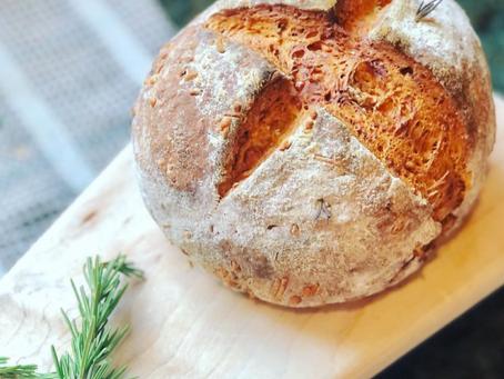 Rosemary & Cheese Irish Soda Bread