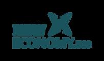 new economy dot eco lockin logo in migni