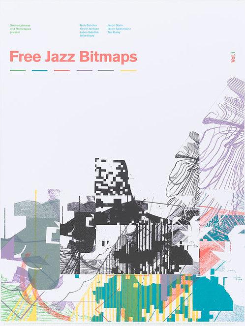 Free Jazz Bitmaps Vol. 1 Poster