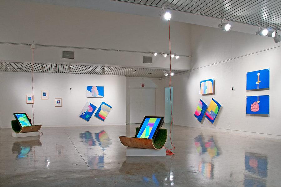 Café Avatar Exhibit