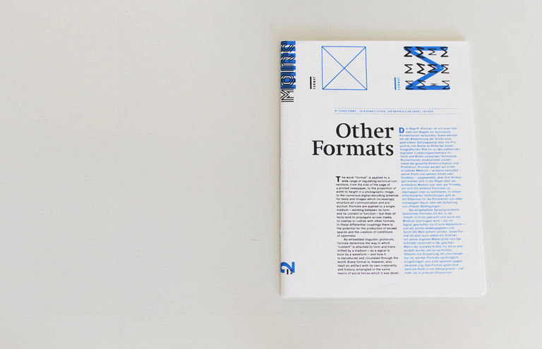 m0ire Issue 2: Format