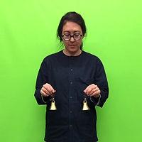 Nadine Nakanishi ringing bells