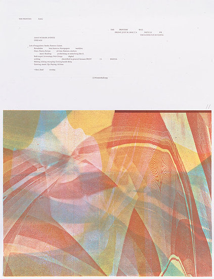 Printers' Ball: Print <3 Digital