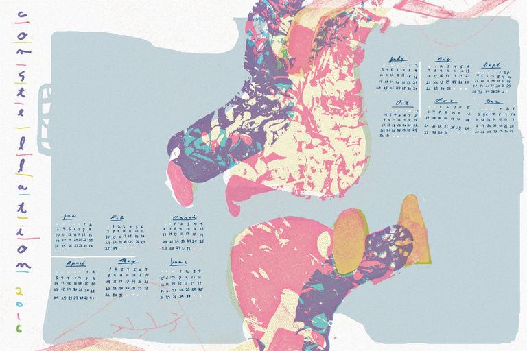 Constellation Chicago 2016 Wall Calendar