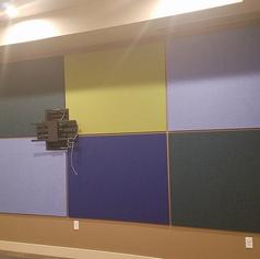 Nine Mile Station acoustic panels