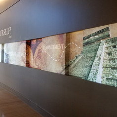Colorado Early College graphic wallcovering