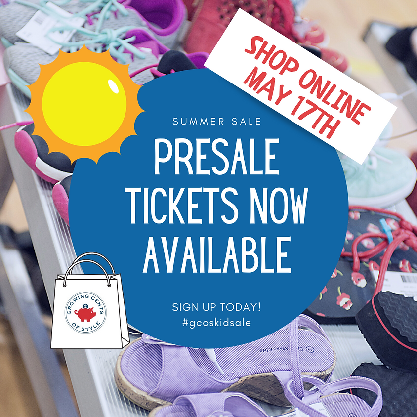 $5 VIP Presale - SUMMER Kick Off ONLINE Sale