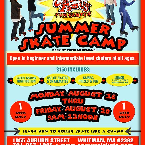 9th Annual Summer Skate Camp
