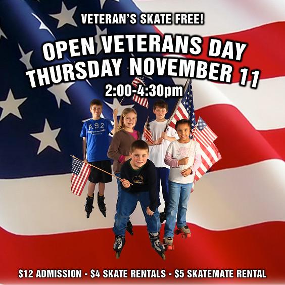 Veteran's Day Skate