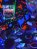 paint splatter party fun