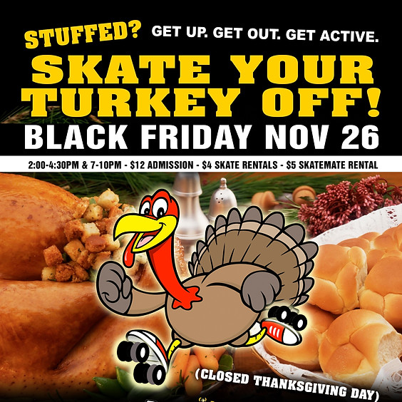 Skate Your Turkey Off