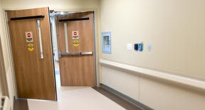 Brazilwood Hospital Door Laminate
