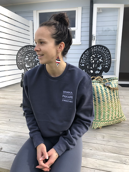 'Whaka-' Line Sweatshirts