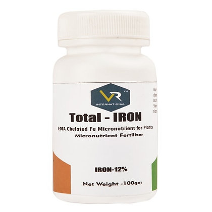Total - Iron EDTA Chelated Fe Micronutrient