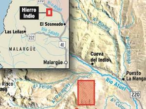 Mendoza: Comenzarán los trabajos en el yacimiento metalífero Hierro Indio en Malargüe