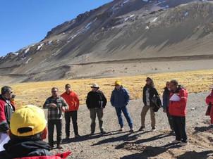 San Juan: La Comisión de Evaluación Ambiental Minera fue a conocer el Proyecto Josemaría