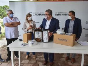 """Catamarca: Yamana Gold dona nuevo equipamiento médico para el Hospital """"Carlos Malbrán"""""""