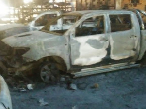 Catamarca: Trabajador minero perdió su camioneta en el incendio de Agua Rica en Andalgalá