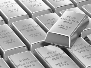 El precio del paladio superó al oro en 2020 y se esperan nuevos récords