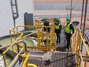Salta: La Secretaría de Minería y Energía inspeccionó la mina Lindero