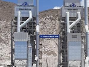 San Juan: Caleras San Juan instala nuevo horno para aumentar su producción