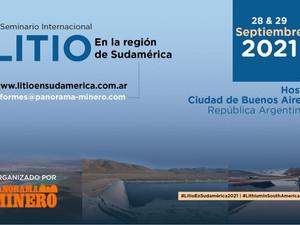 """Argentina: Cambio de sede del Seminario Internacional """"Litio en la Región de Sudamérica"""""""