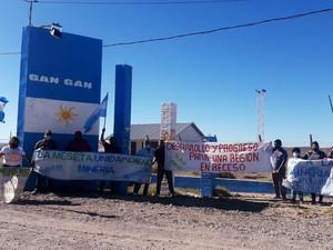 Chubut: Nueva marcha en la Meseta a favor del desarrollo minero y de la zonificación