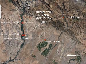 Perú: Proyecto Zafranal iniciaría su construcción en 2023 si se aprueba la EIA en 2022
