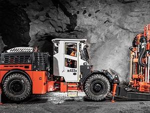 Sandvik amplía la gama de equipos eléctricos con una nueva perforadora subterranea