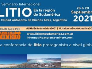 Argentina: El evento más destacado de la industria del litio se realizará el 28 y 29 de septiembre