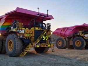 Newmont da la bienvenida a sus primeros camiones autónomos para su mina de oro Boddington