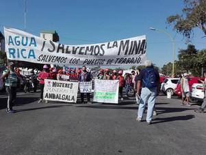 Catamarca: Convocante marcha en defensa de la industria minera