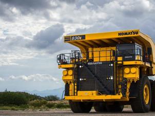 Komatsu presentará un nuevo sistema de 'trolley' para camiones 830E-5 en 2021