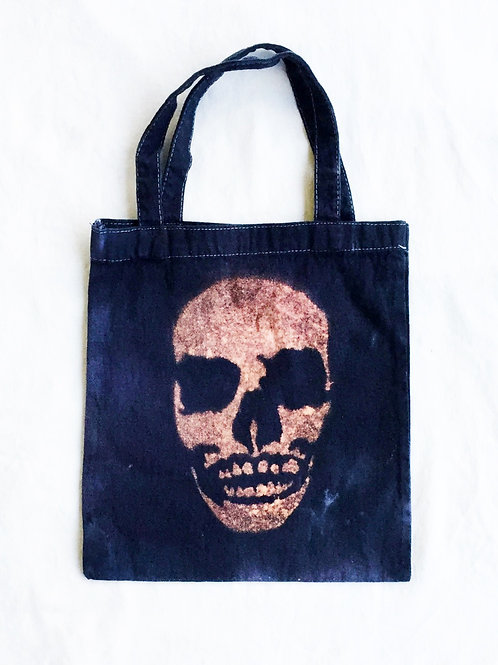 FreeLoad Skull Canvas Tote Bag