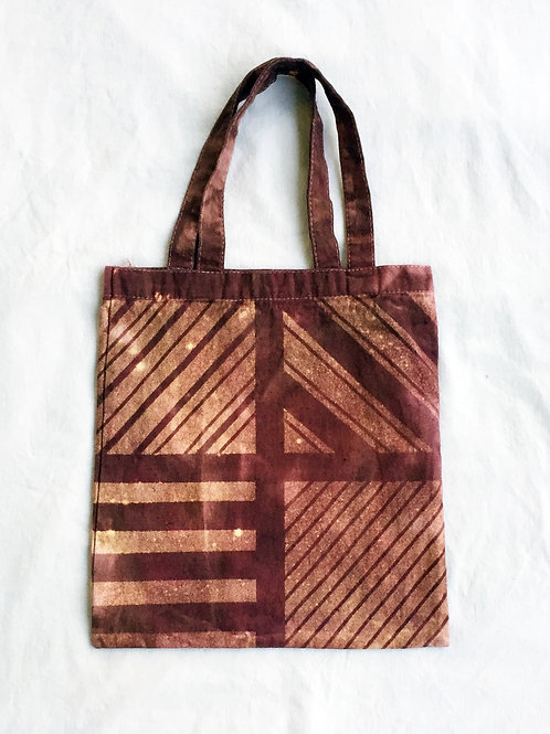 FreeLoad Striped Canvas Tote Bag