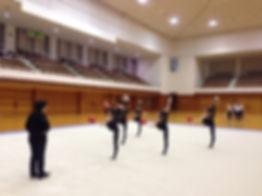 新体操講習会、東京女子体育大学、新体操部、後援会、ブロック講習会