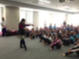 新体操講習会、東京女子体育大学、新体操部、後援会