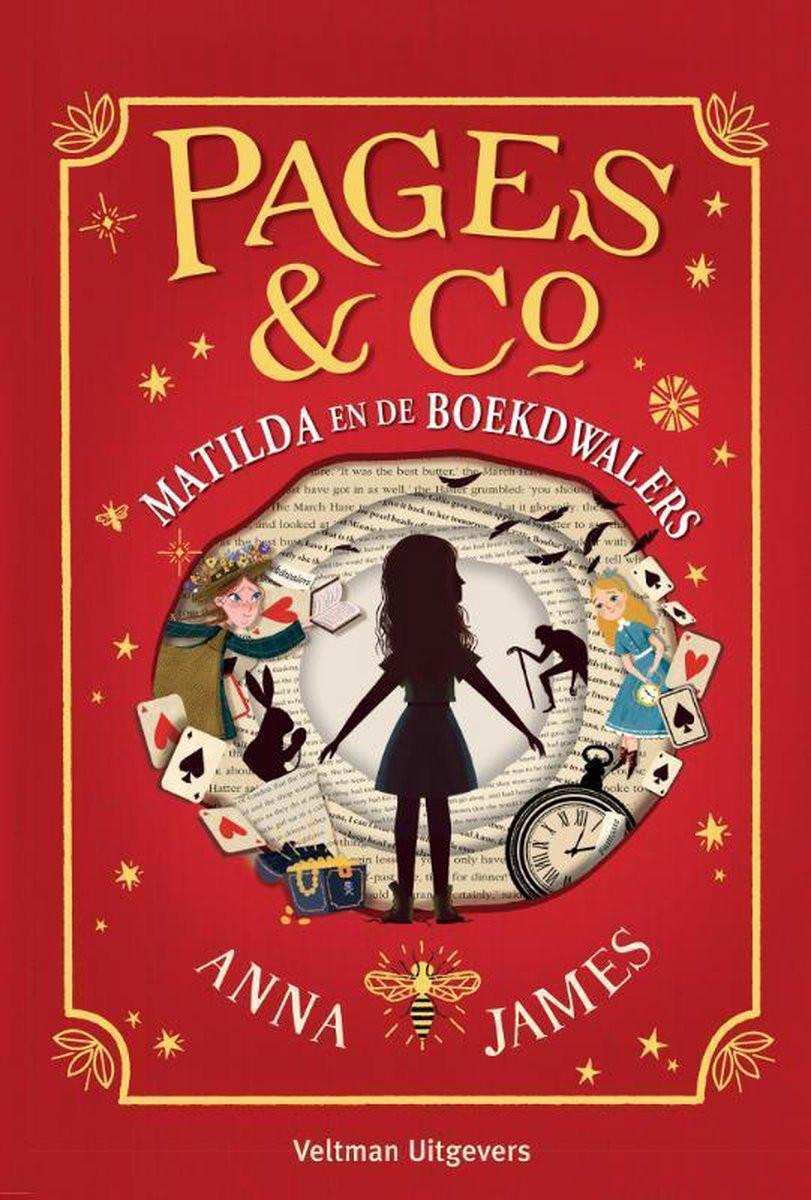 Boek Pages en Co Matilda en de Boekdwalers