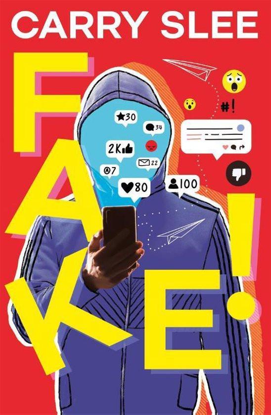 Fake!, titelpagina, cover, Carry Slee, Carry Slee uitgevers