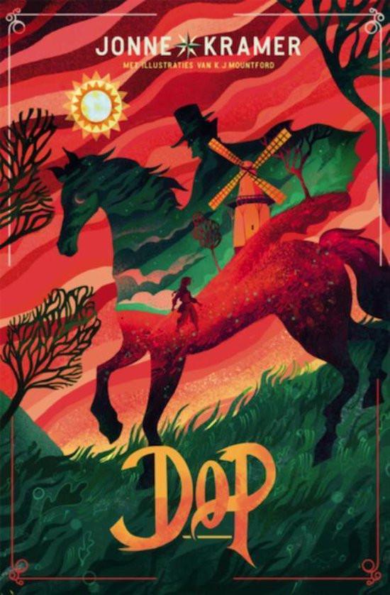 Kaft van het boek Dop van Jonne Kramer