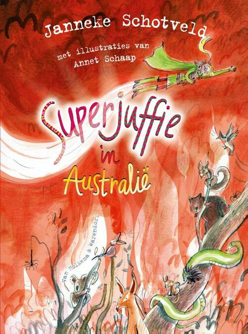Voorpagina; Superjuffie in Australië; Janneke Schotveld