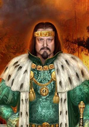 Koning Ferris, broer van Halt, Clonmel, Hibernia, De Grijze Jager
